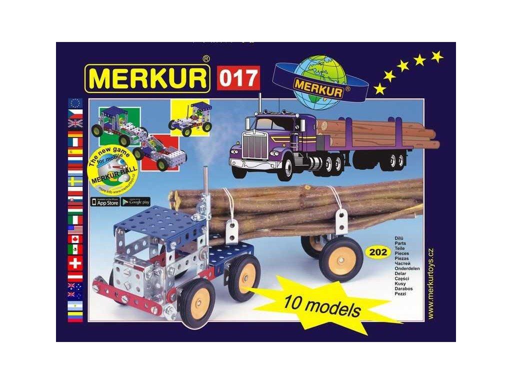 Merkur 017 Kamion - 202 dílů