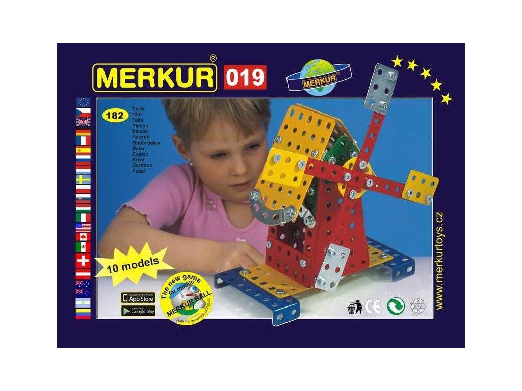 Merkur 019 Větrný mlýn - 182 dílů