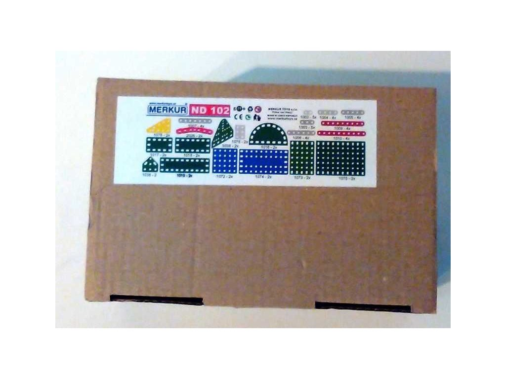 Merkur náhradní díly ND 102 - krátké pásky a destičky