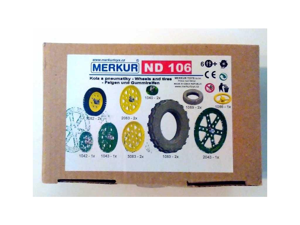 Merkur náhradní díly ND 106 - kola a pneumatiky