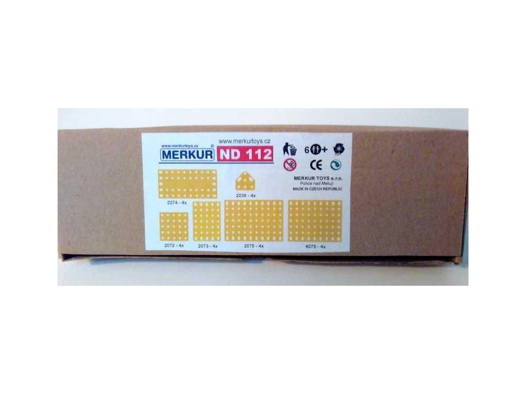 Merkur náhradní díly ND 112 - plastové desky velké