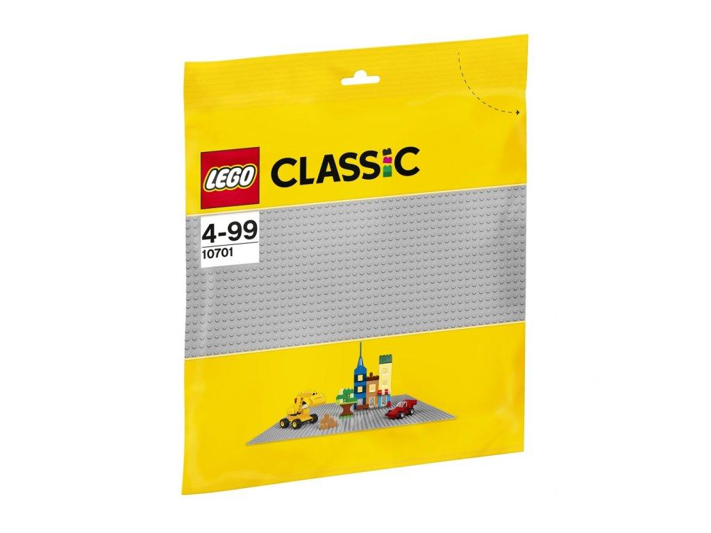 LEGO® 10701 Šedá podložka na stavění