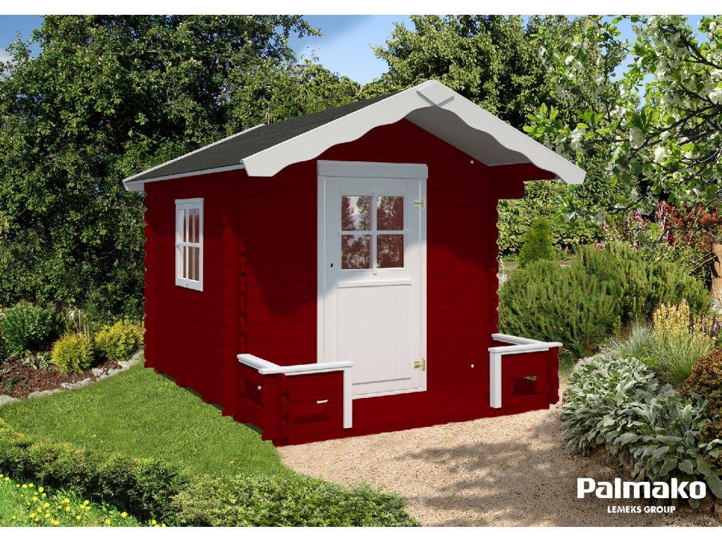 1 Palmako kids Stina 3.1 m2 red+white wb