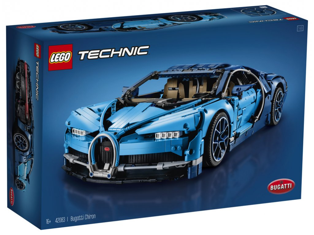 LEGO® Technic™ 42083 Bugatti Chiron