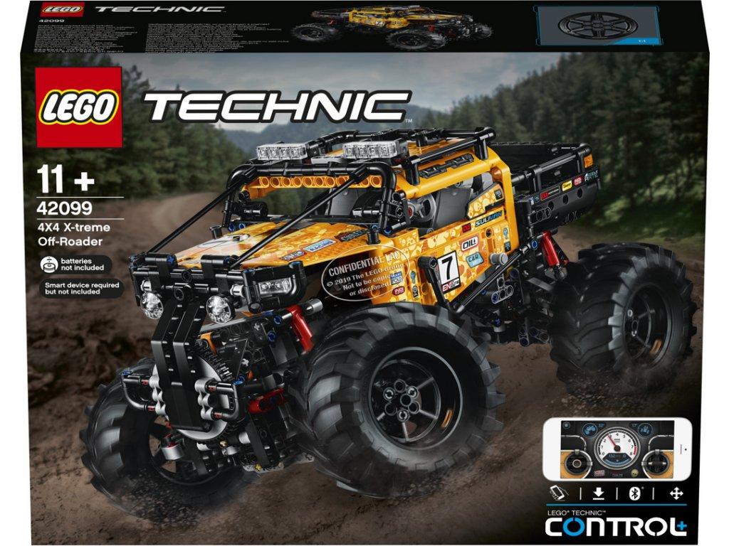 LEGO® Technic™ 42099 RC Extrémní teréňák 4x4