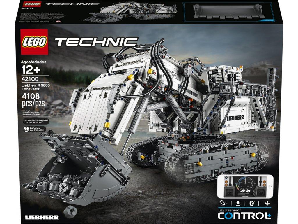 LEGO® Technic™ 42100 Bagr Liebherr R 9800