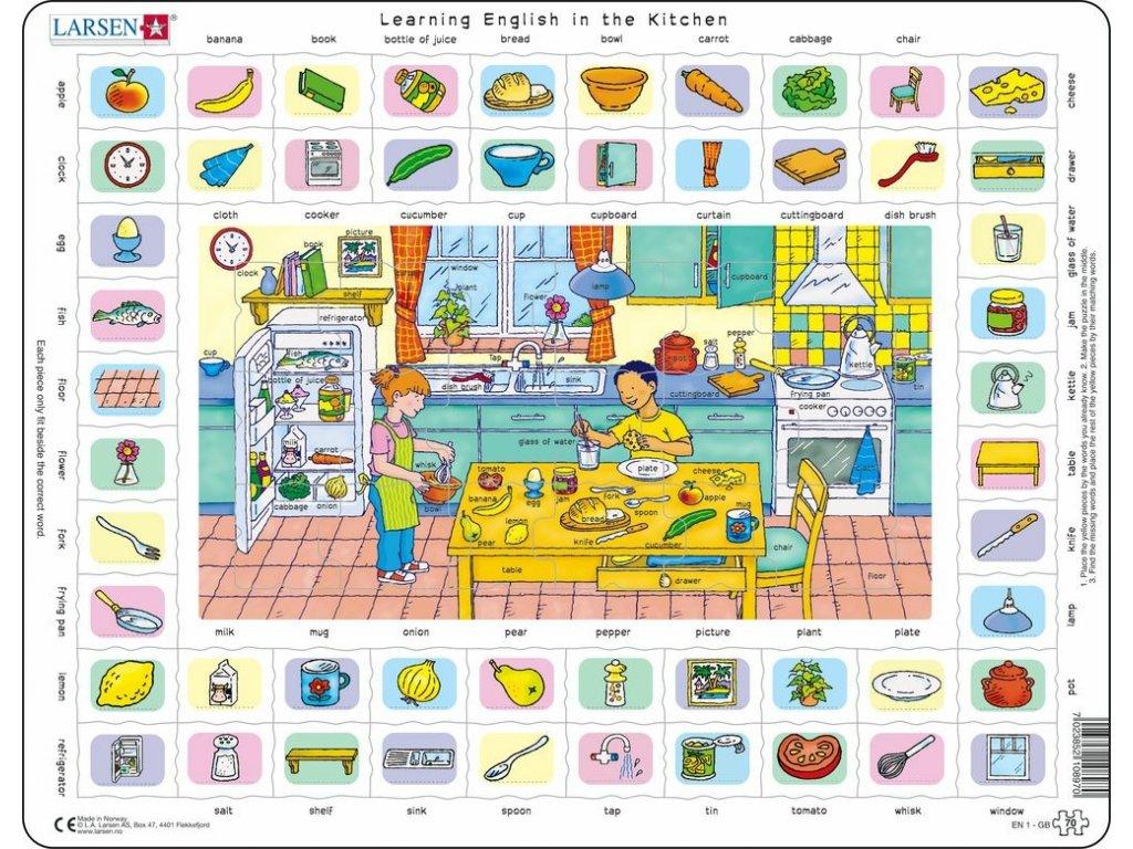 Puzzle Hodina angličtiny 170 dílků
