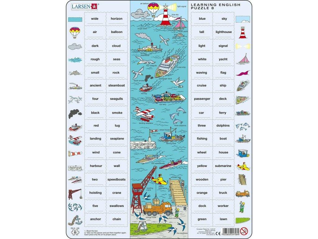 Puzzle Hodina angličtiny 864 dílků