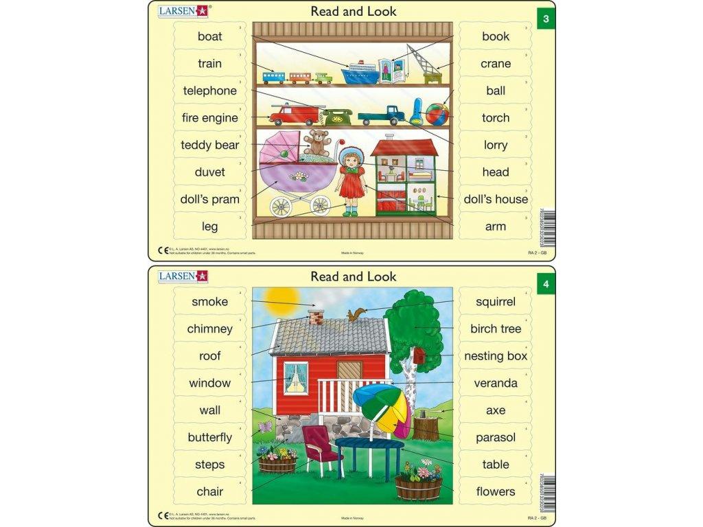 Puzzle Angličtina - slovíčka RA2 16 dílků