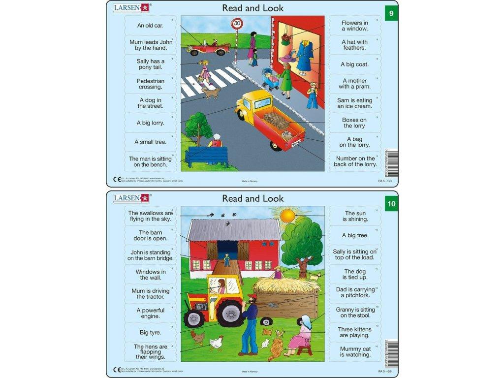 Puzzle Angličtina - slovíčka RA5 16 dílků