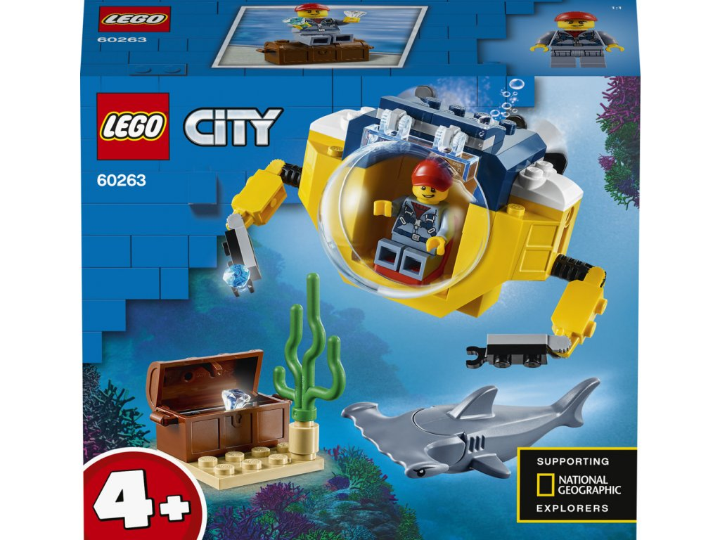 LEGO® City 60263 Oceánská mini ponorka