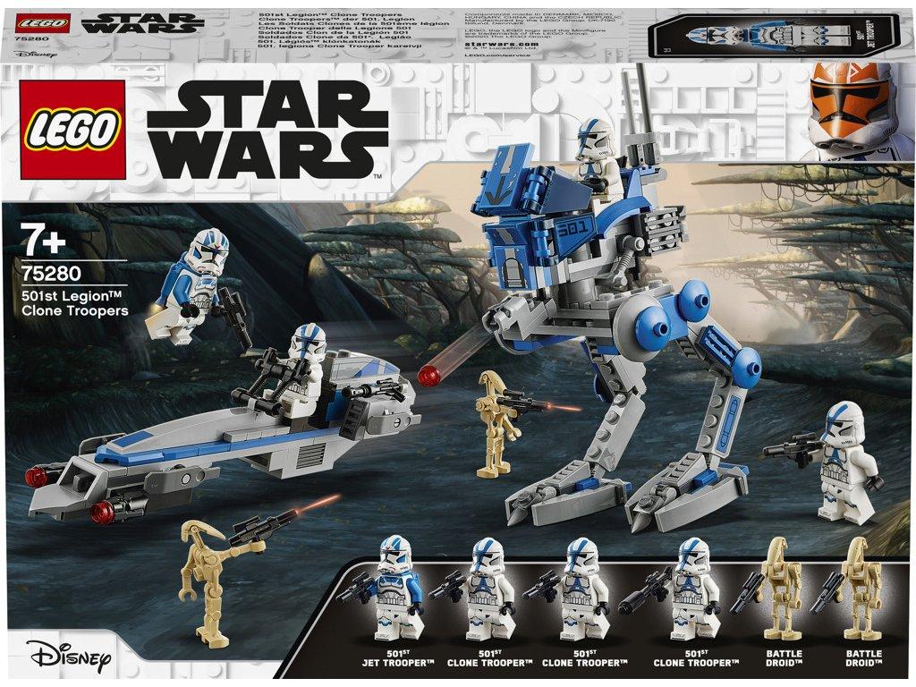 LEGO® Star Wars™ 75280 Klonoví vojáci z501.legie
