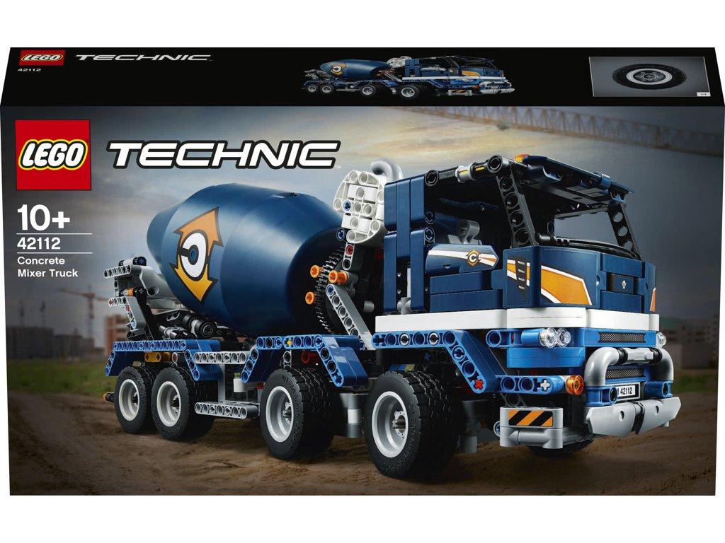 LEGO® Technic™ 42112 Náklaďák s míchačkou na beton