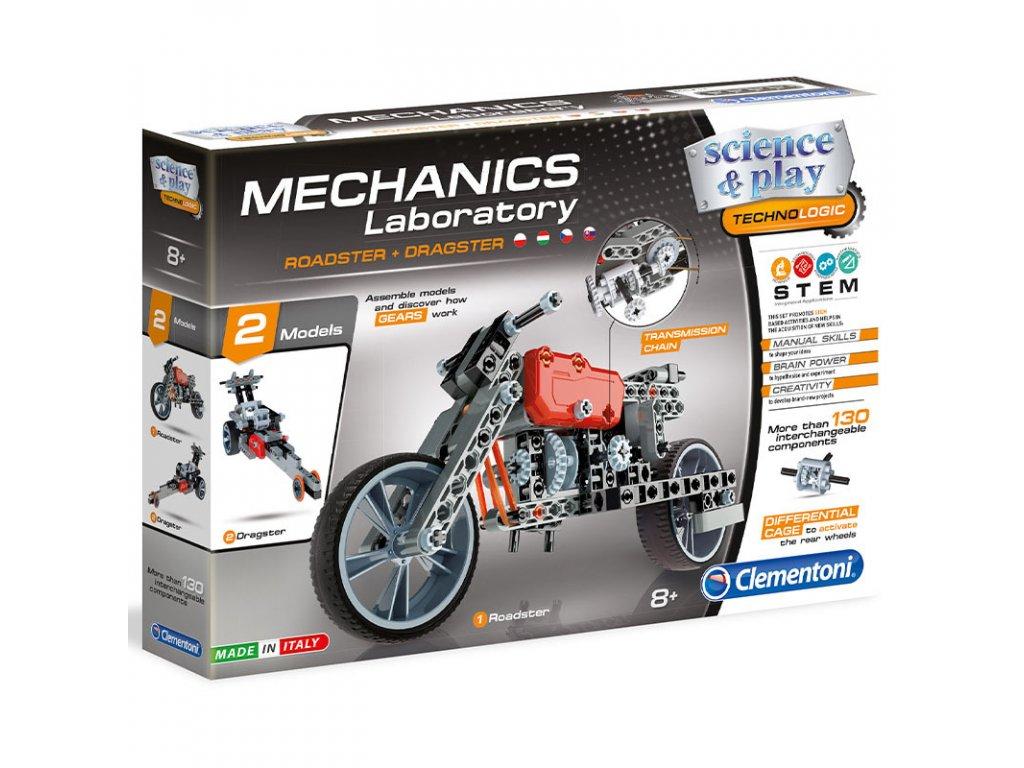 Mechanická laboratoř - Roadster a Dragster