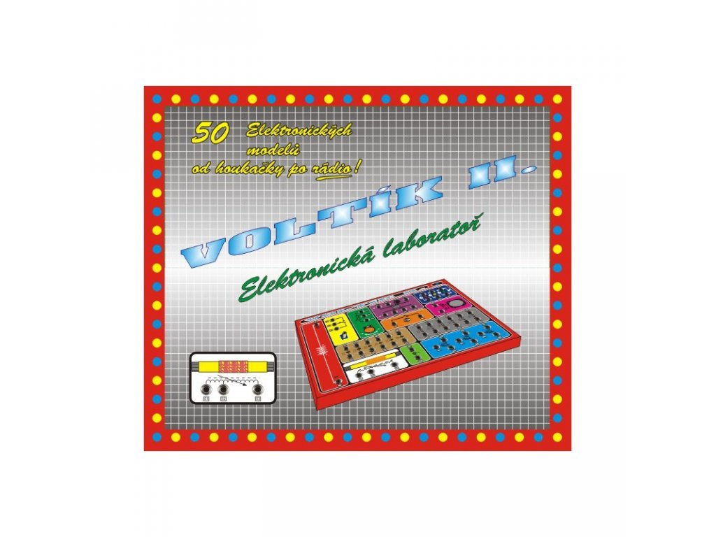 Voltík 2 - Elektronická laboratoř