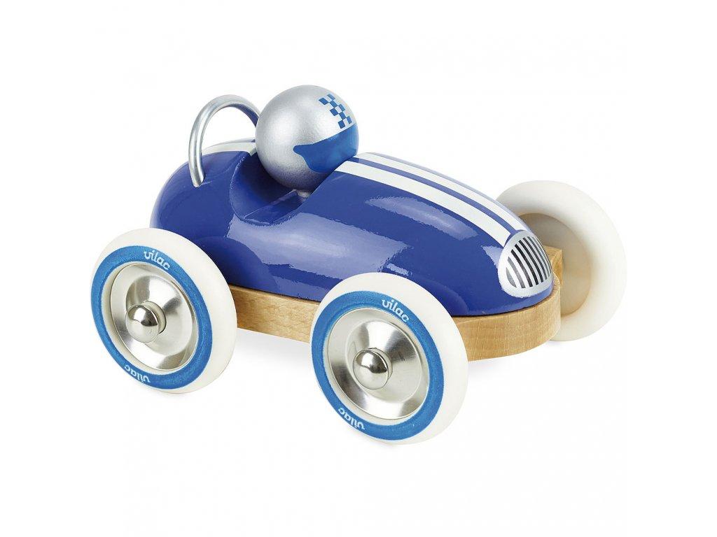 Vilac Dřevěné auto Roadster vintage modré