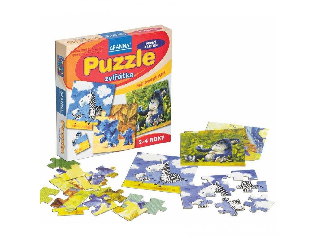 Granna Puzzle zvířata