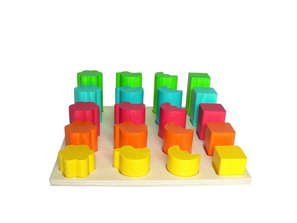 Hess Vkládací tvary barevné