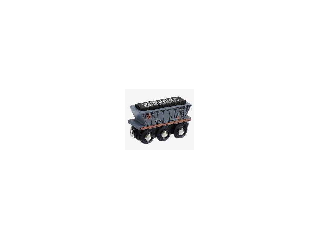 Maxim Dřevěný nákladní vagón uhlí