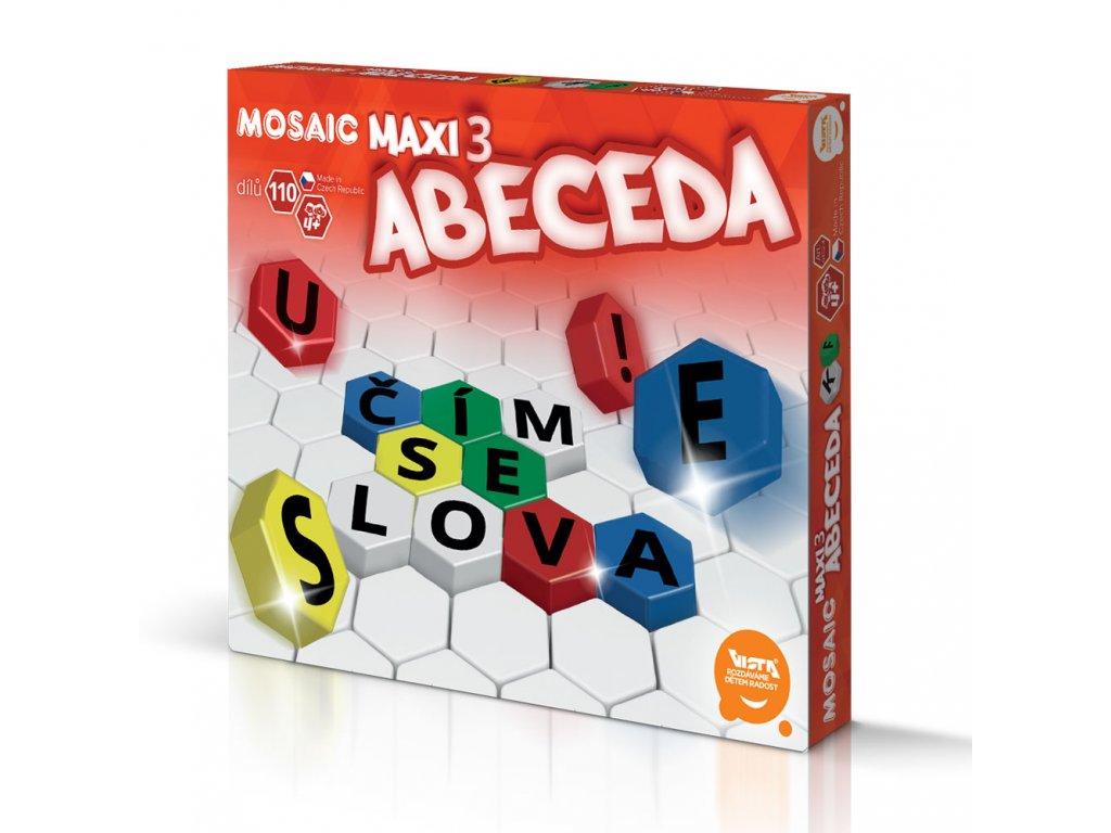Mosaic Maxi/3 - ( Abeceda - CZ )