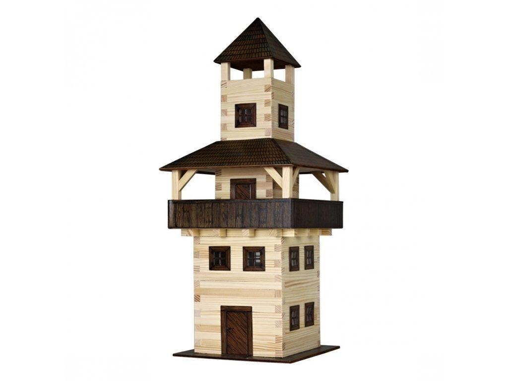 Walachia Dřevěná slepovací stavebnice Věž