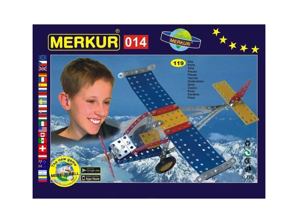 Merkur 014 Letadlo - 119 dílů