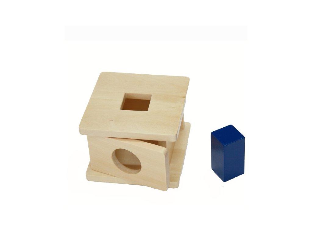 Box na vkládání kostky