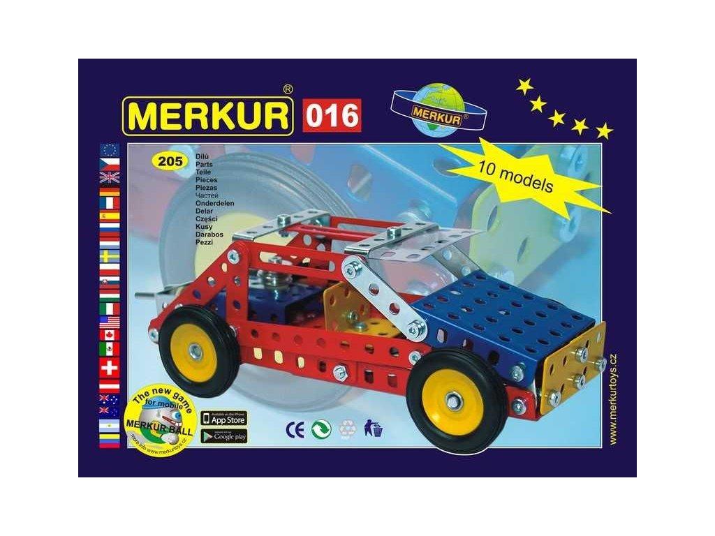 Merkur 016 Buggy - 205 dílů