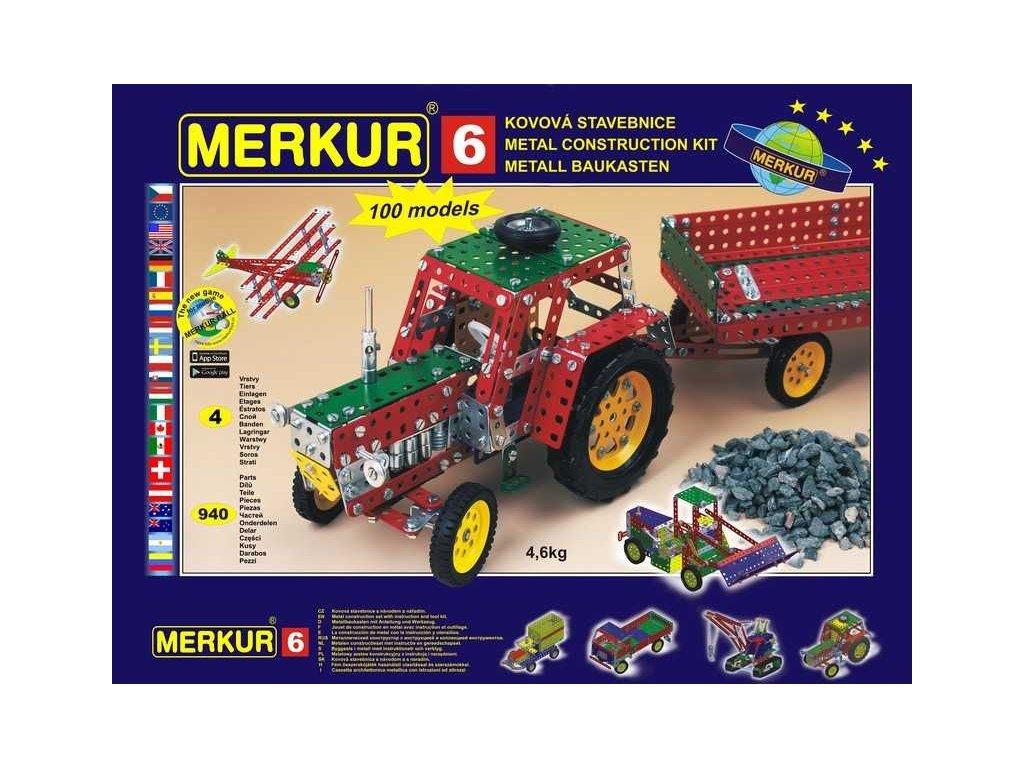 Merkur 6 - 940 dílů