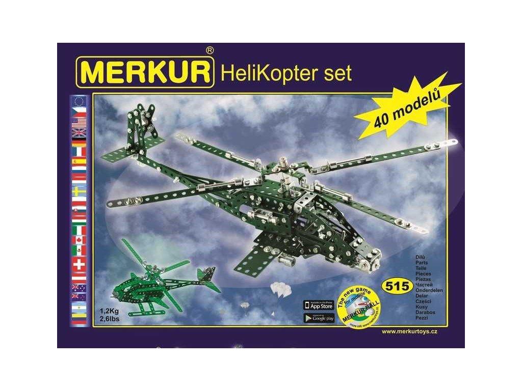 Merkur HELIKOPTER Set - 515 dílů