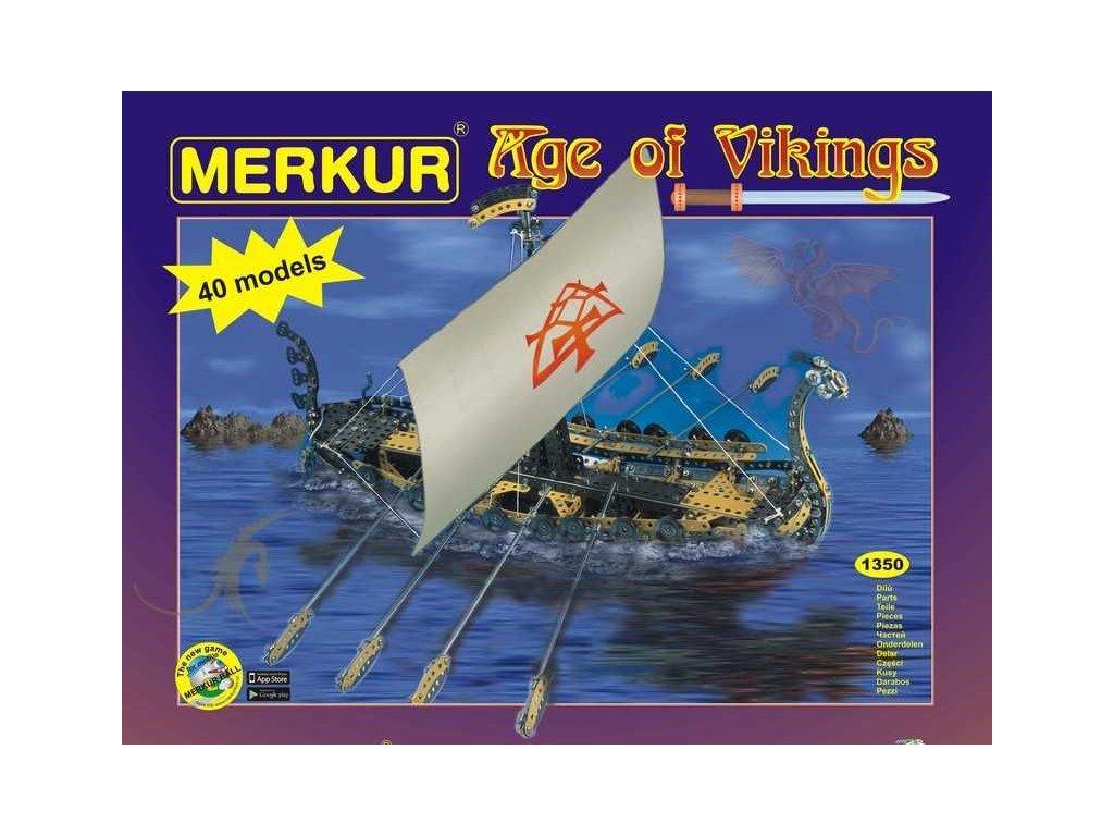Merkur AGE of VIKINGS - 1350 dílů