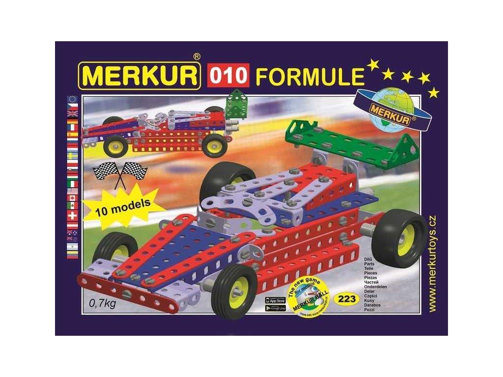 Merkur 010 Formule - 223 dílů