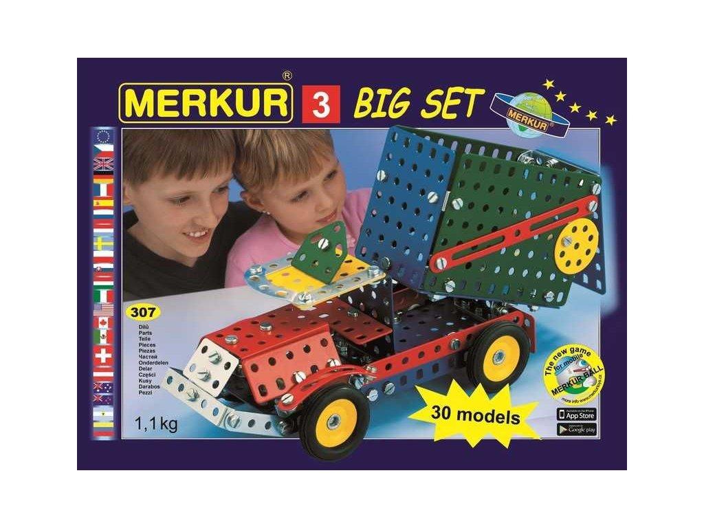 Merkur 3 Big set - 307 dílů