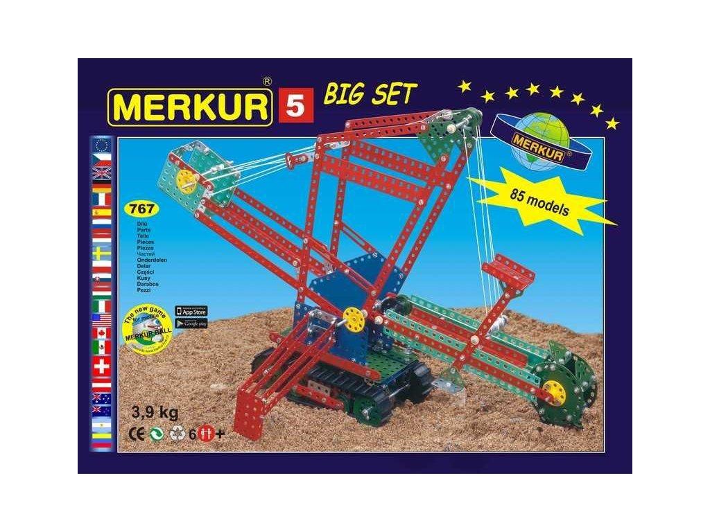 Merkur 5 Big set - 767 dílů