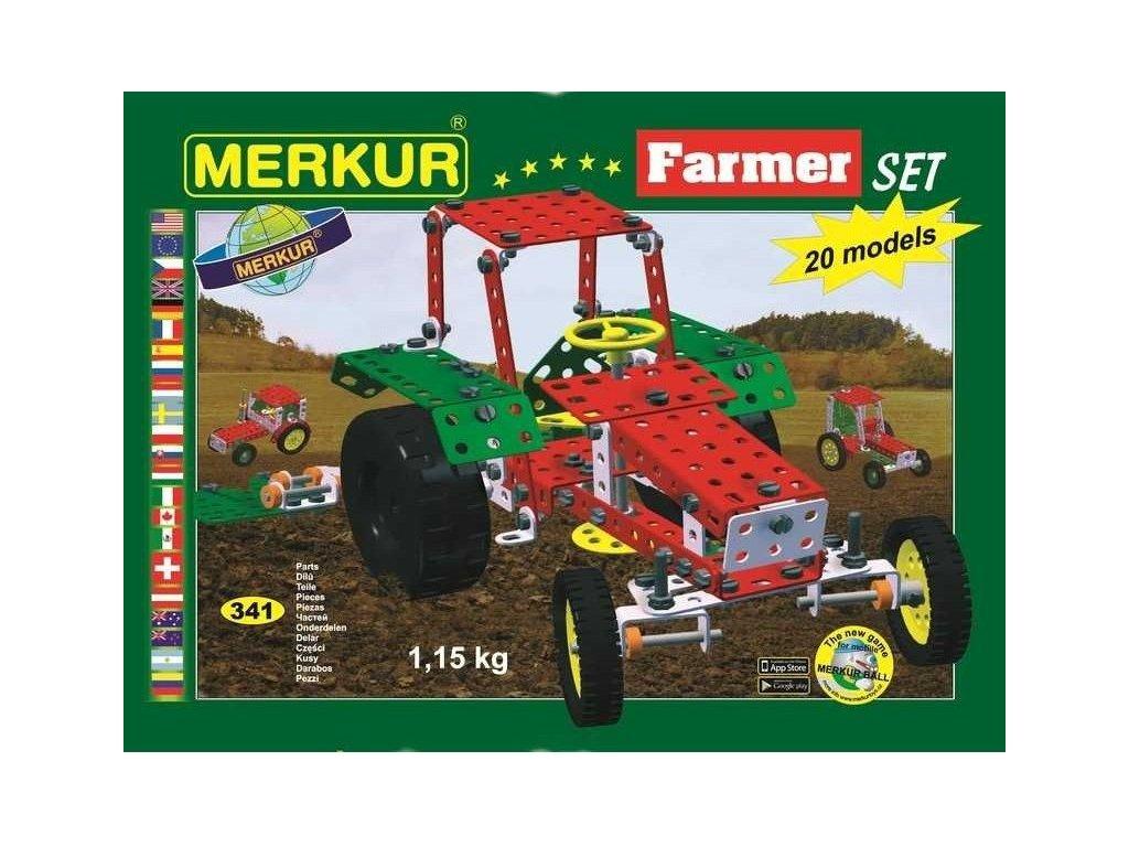 Merkur FARMER Set - 341 dílů