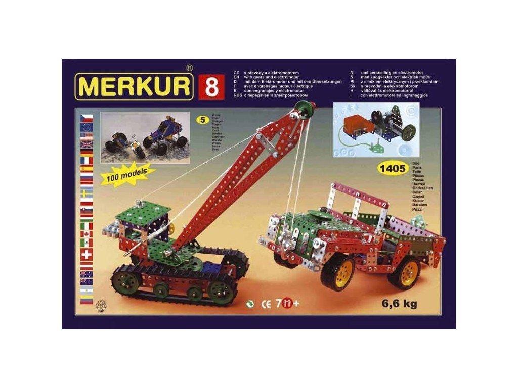 Merkur 8 - 1405 dílů