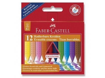 Plastové pastelky Faber-Castell Plastic Colour 12 barev