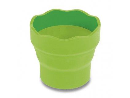 Kelímek na vodu Faber-Castell Clic&Go zelený
