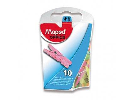 Mini kolíčky Maped barevné, krabička
