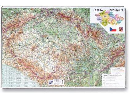 Podložka na stůl mapa České republiky 60 x 40 cm