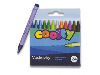 Voskovky Coolty 24 barev
