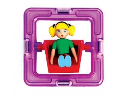 Magformers Figurka holčička