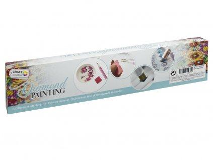 Malování pomocí kamímků Diamond Kočka 30x40 cm
