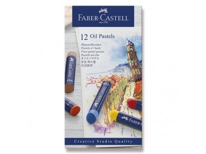 Olejové pastely Faber-Castell 12 barev