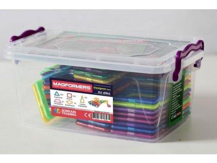 Magformers Designer Box - 62 dílků
