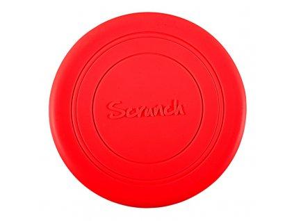 Scrunch Frisbee červené