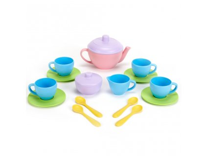 Green Toys Čajový set Pink 17 Ks