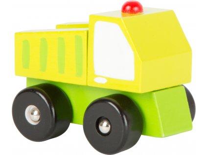 Dřevěná autíčka - Stavební stroje 1 ks Dřevěná autíčka - Stavební stroje 1 ks