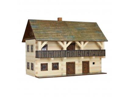 Walachia Dřevěná slepovací stavebnice Fojtství
