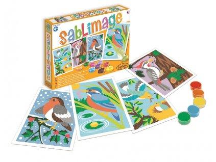 Sablimage: Pískové obrázky - Ptáci